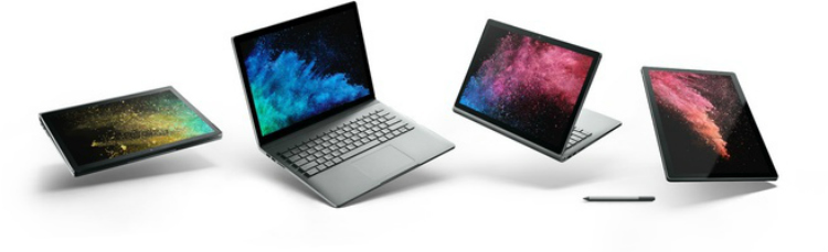 Microsoft Surface Book 2 Nederland