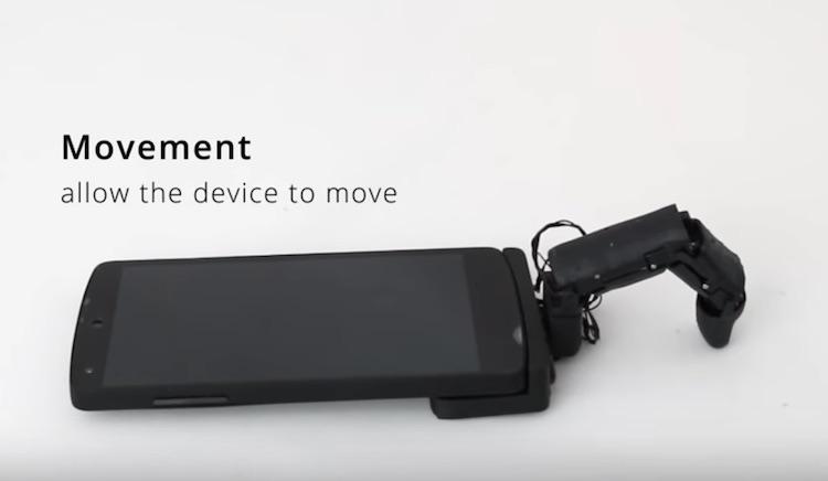Maakt een vinger aan je smartphone het ding menselijker?