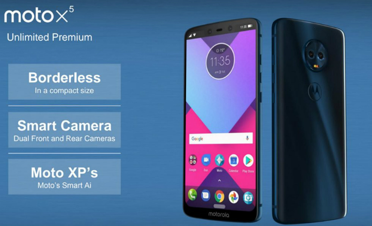 Motorola Moto X5 aapt iPhone X na