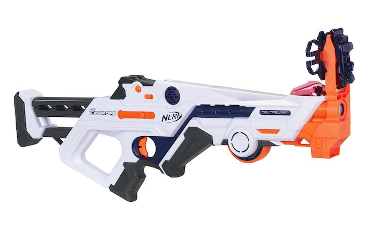 Deze Nerf-gun kun je verbinden met een smartphone