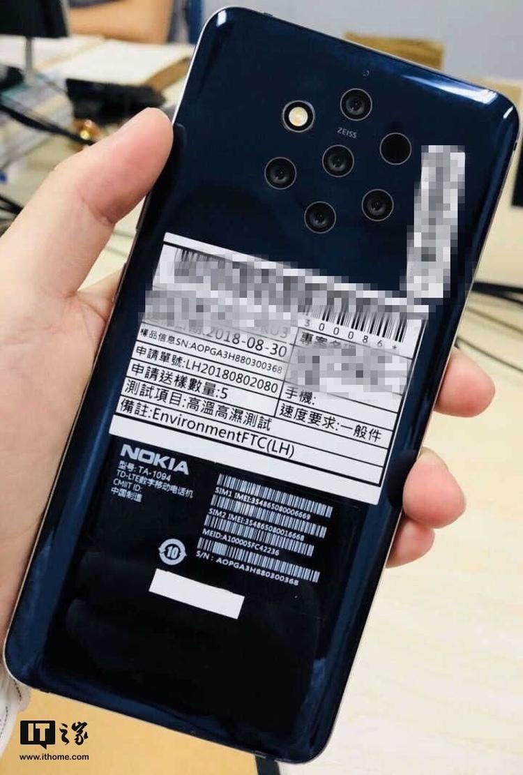Nokia 5x Camera