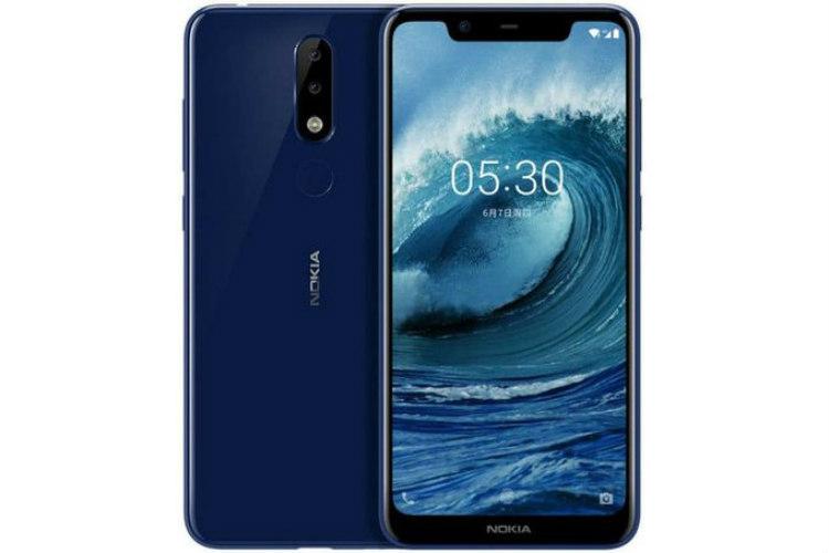 Nokia X5 render