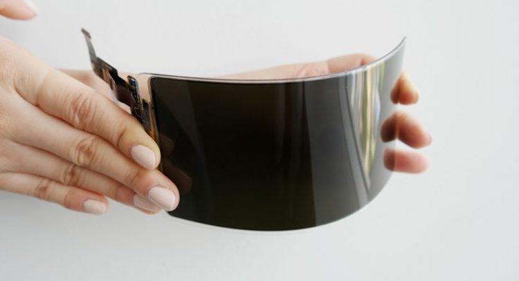 Samsung onthult onbreekbaar smartphone scherm