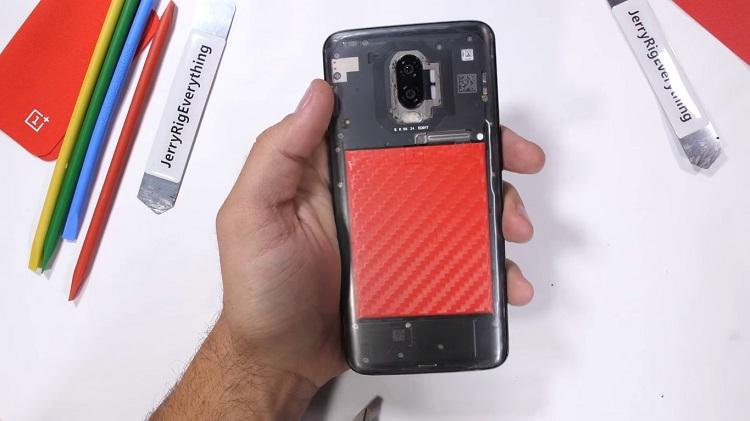 OnePlus 6T transparant