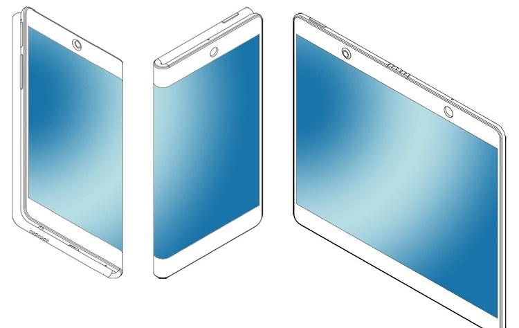 Oppo opvouwbare smartphone patent