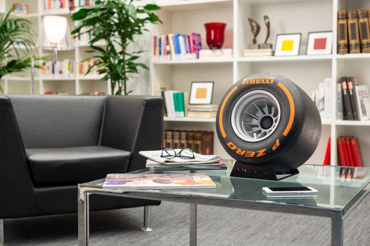 Deze F1 Pirelli Bluetooth speaker wil je hebben