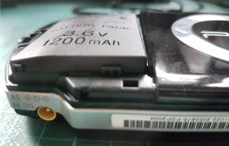 Sony PSP batterijen gevaarlijk