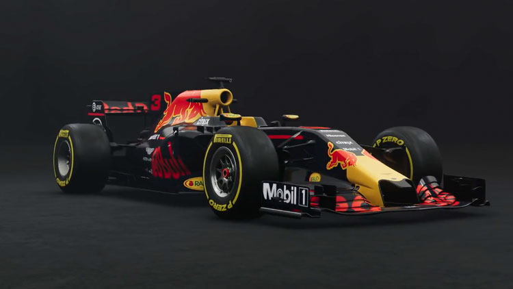 Red Bull RB13 in The Crew 2