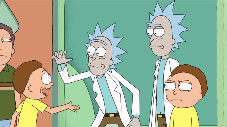 High-five Morty!