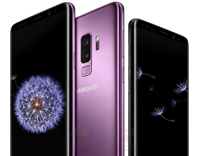 Gelekt! Samsung Galaxy S9 in het paars
