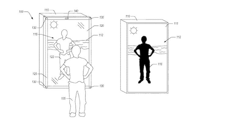 Amazon patenteert spiegel die nieuwe kleren kan simuleren