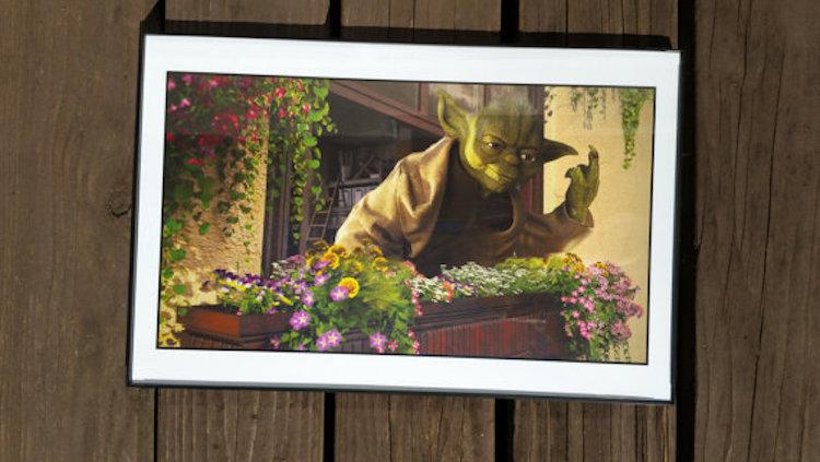 Deze Star Wars schilderijen zijn fantastisch
