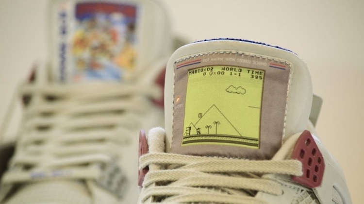 Game Boy Jordans kosten je 1.350 dollar