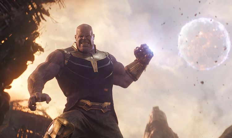 Thanos schopt kont in Infinity War