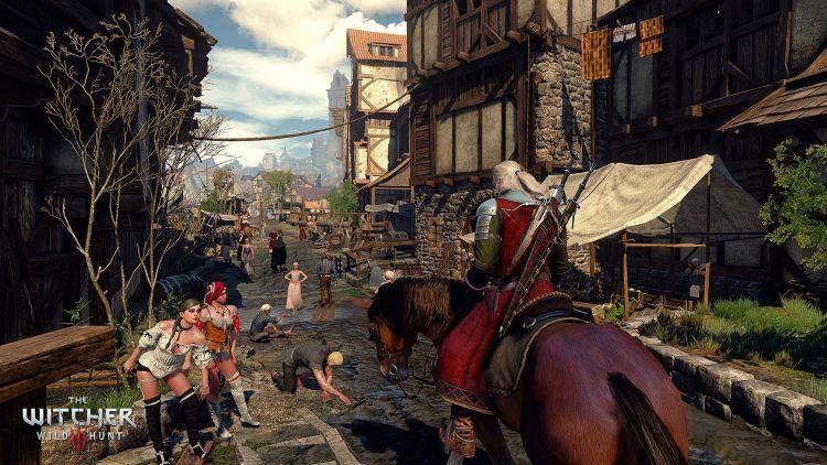 Geralt gaat het zilveren scherm bevechten