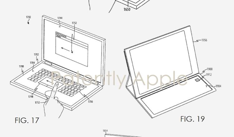 Apple patenteert nieuw toetsenloos toetsenbord