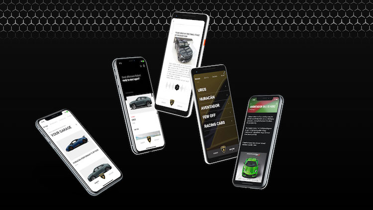 Dit is de nieuwe Lamborghini app voor klanten
