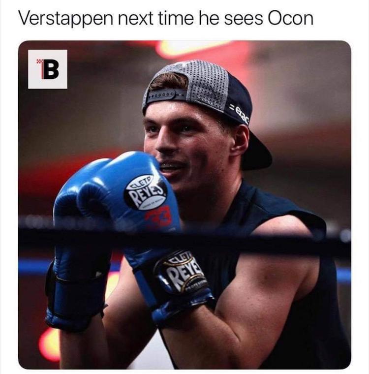 15 leuke inhakers op Ocon vs Verstappen-kwestie