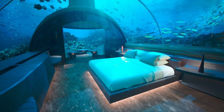 Hier komt de eerste onderzeese villa