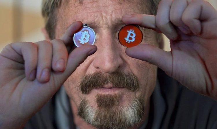 McAfee: hack mijn crypto wallet en ik geef je 100.000 dollar