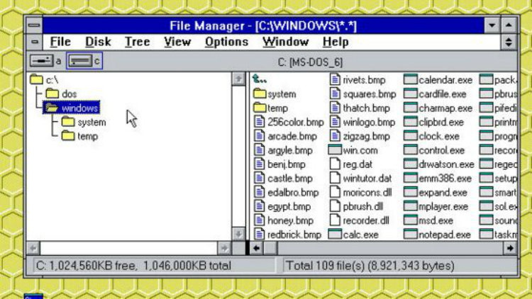 Windows 3.0 File Manager downloaden