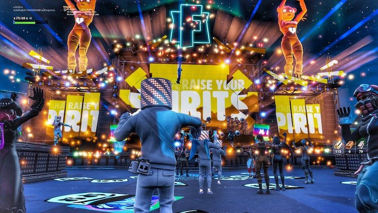 Video: Fortnite in-game concert met Marshmello