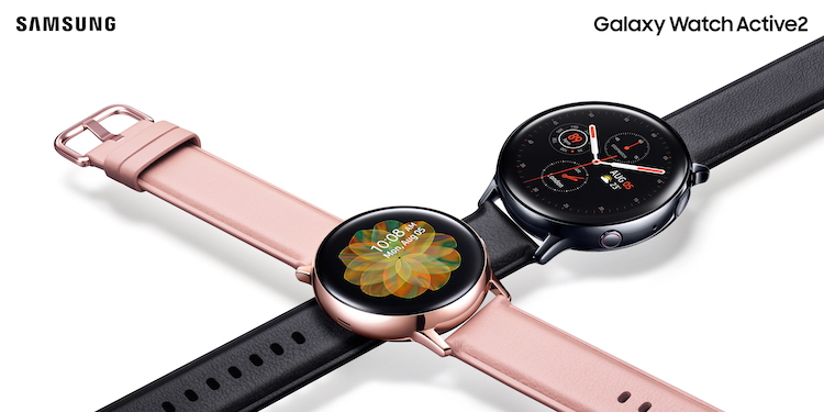 Samsung onthult Galaxy Watch Active2