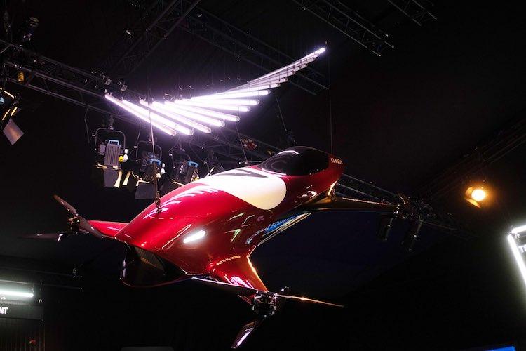 Dit is Airspeeder, het vliegende autorace kampioenschap