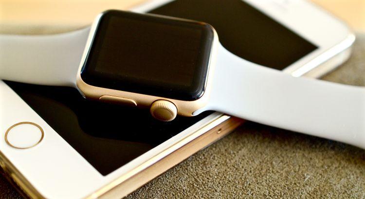 Apple Watch onderbreekt weerbericht