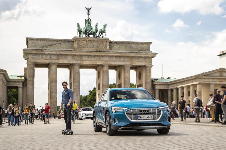Dit moet je weten over de Audi e-tron Scooter