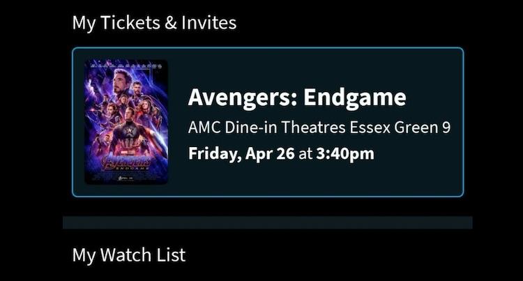 Bioscoopkaartjes Avengers: Endgame te koop voor 5.000 euro+