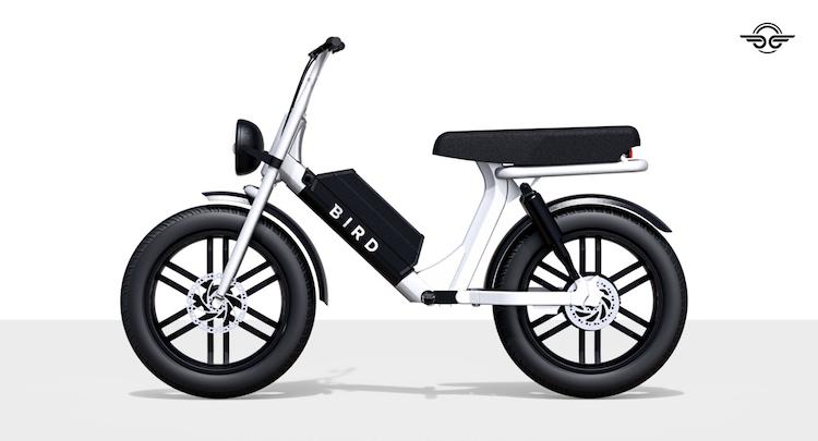 Bird komt met kruising tussen fiets en scooter