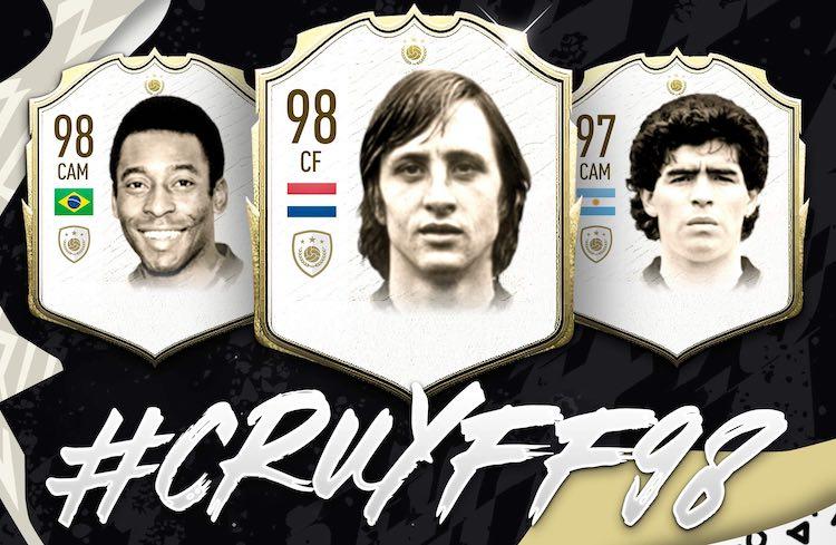 FIFA 20: 'Johan Cruyff hoort tot de beste spelers'