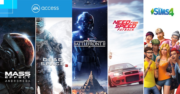 Onbeperkt de nieuwste EA-games spelen op je PlayStation 4