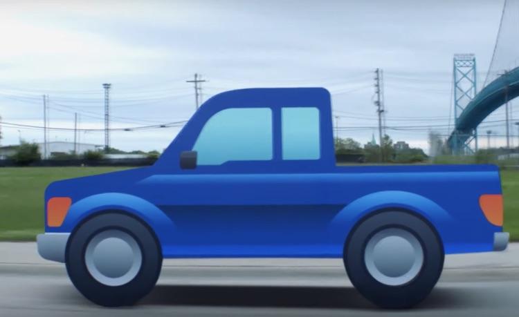 Ford wil dat deze pickup emoji gaat komen