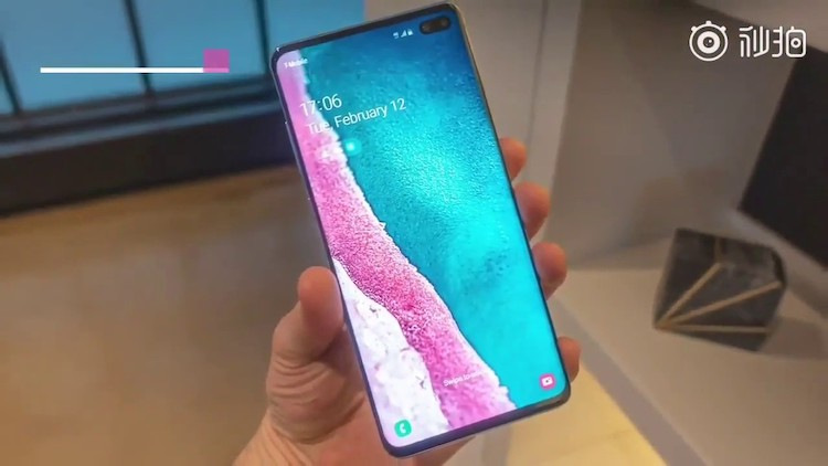 De Samsung Galaxy S10-video die we niet mochten zien