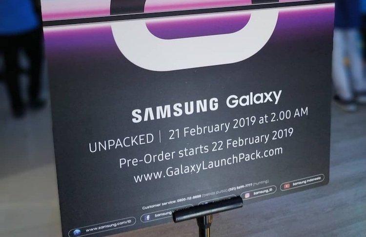 Galaxy S10-reserveringen op 21 februari