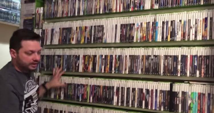 Deze gast heeft de grootse gamecollectie ter wereld
