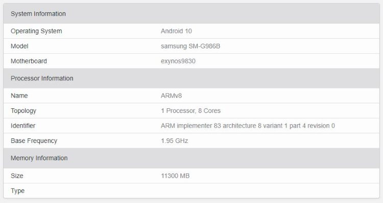 geekbench-benchmark-samsung-galaxy-s11-5g
