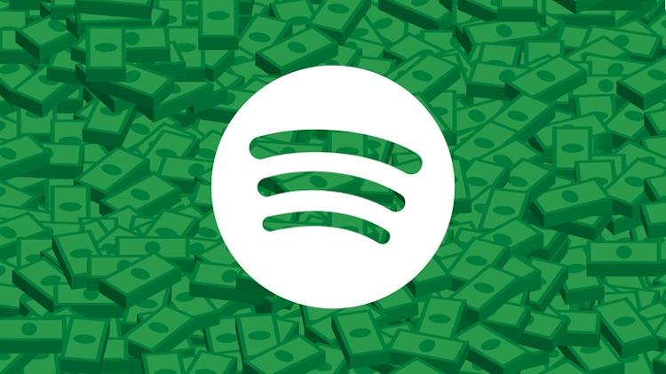Zoveel mensen betalen iedere maand voor Spotify