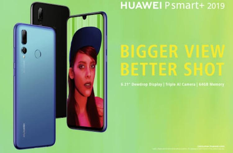 Huawei introduceert nieuwe P Smart+ 2019