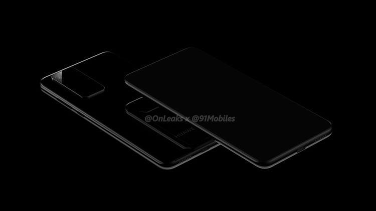 De Huawei P40 renders suggereren een Galaxy S11