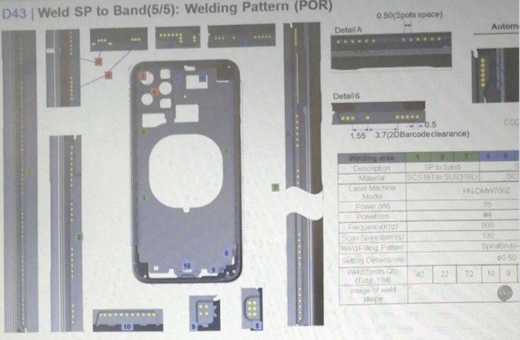 iPhone-X1-bouwtekening
