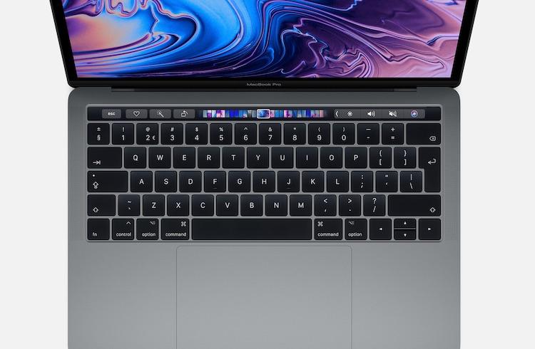 Dit is het vernieuwde toetsenbord van de 2019 MacBook Pro