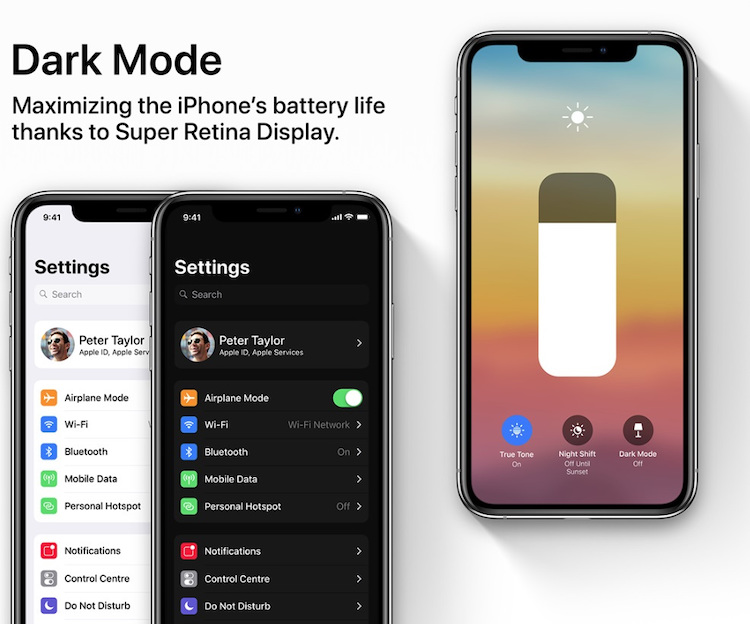 De Dark Mode in iOS 13