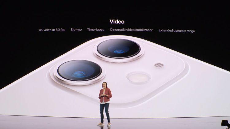 Gloednieuwe dual-camera