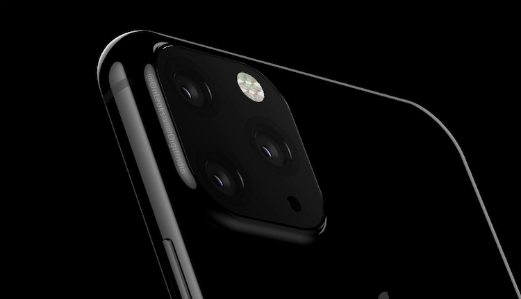 iPhone XI met triple camera