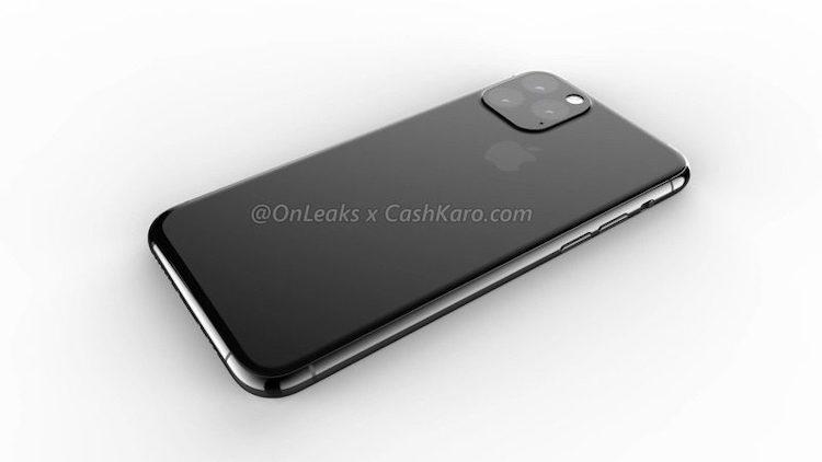 De achterkant van de nieuwe iPhone