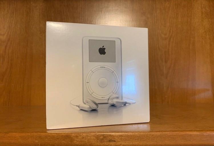 Originele iPod in doos te koop voor maar liefst 18.000 euro