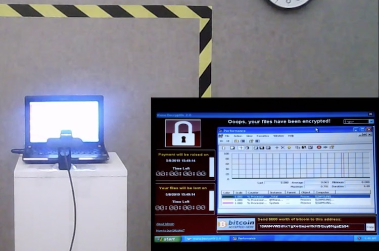 Laptop vol virussen te koop voor 1 miljoen euro